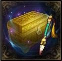 一盒朱砂笔宝箱